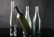 בקבוק זכוכית דקור לעשות את זה בעצמך יחידת בכיתה בתמונה