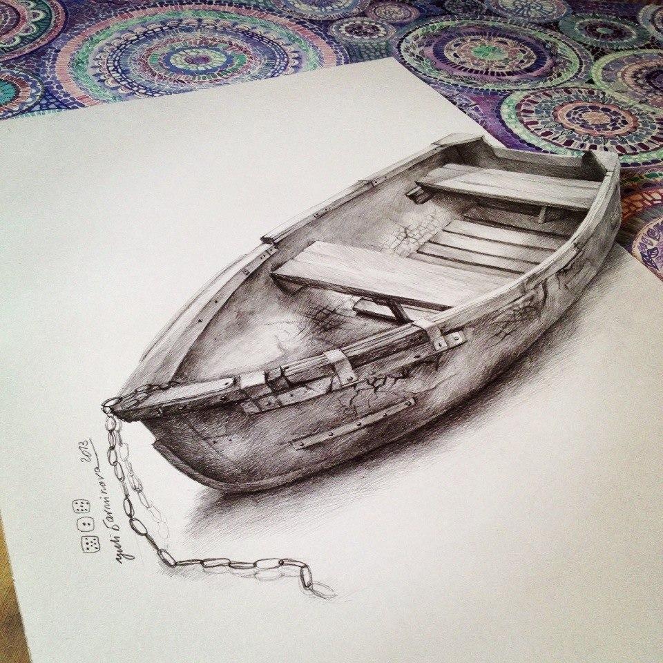 100 Idea Terbaik Lukisan 3D Di Atas Kertas Dalam Pensil