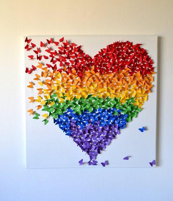 3d-butterfly-wall-art-in-rainbow-colors-rainbow-theme-decor-for-nursery-kids-modern-nursery-ar