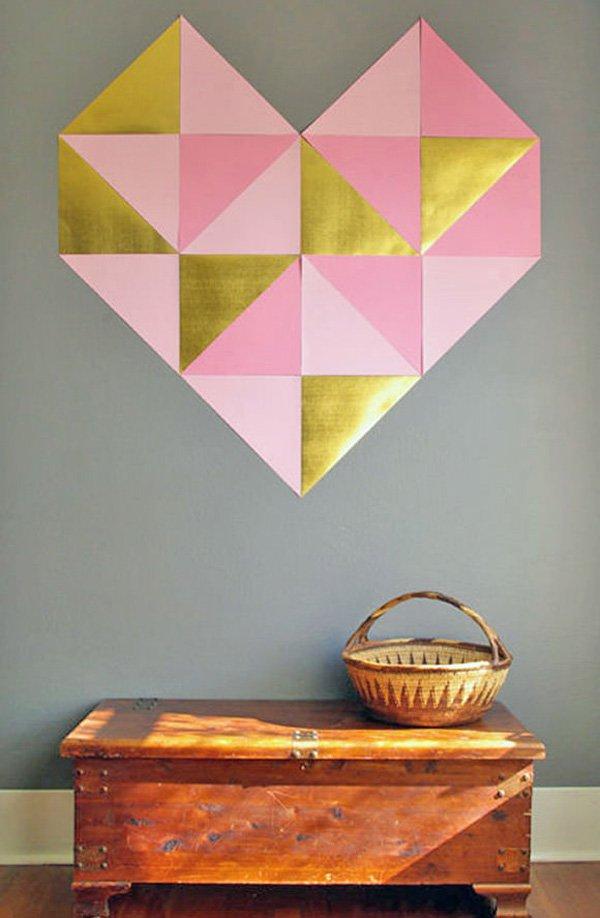 diy-gigante-geométrico-pared-corazón