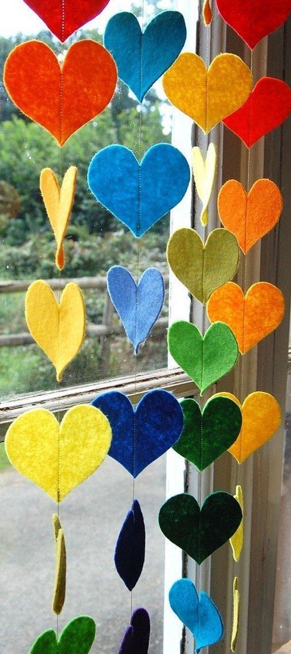 colgante-arcoiris-corazones-un-colorido-fieltro-decorativo-guirnalda
