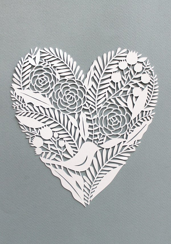 corazón-papel-cortado
