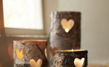 DIY Kerzenhalter