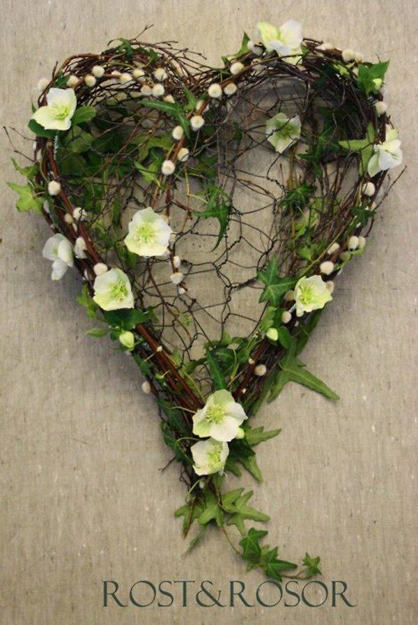 corona de corazon