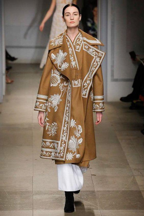 Abrigo de moda otoño-invierno