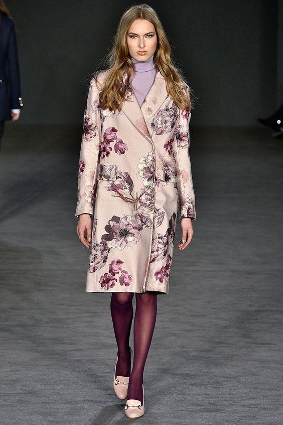 Abrigos de moda: Estampado floral
