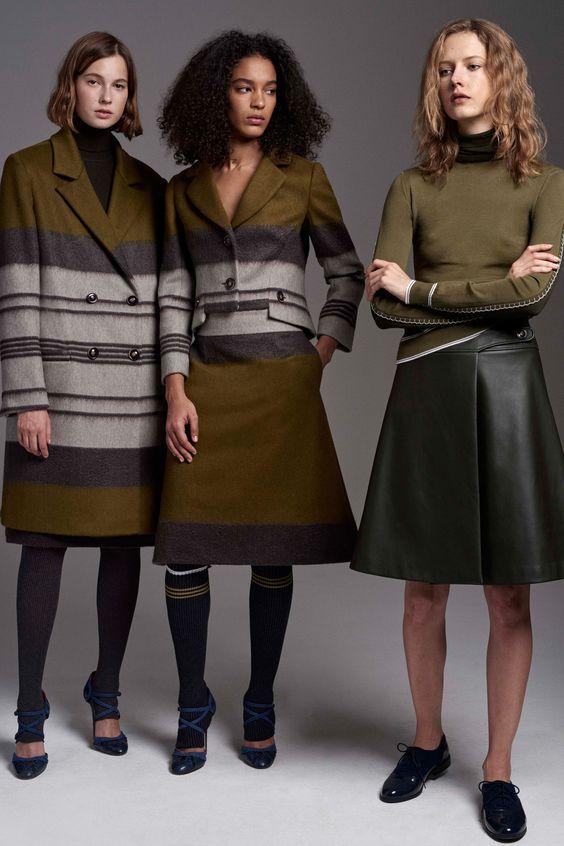 Abrigo de moda 2017