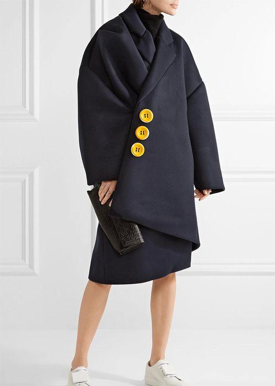 Abrigo estilo extravagante 2017