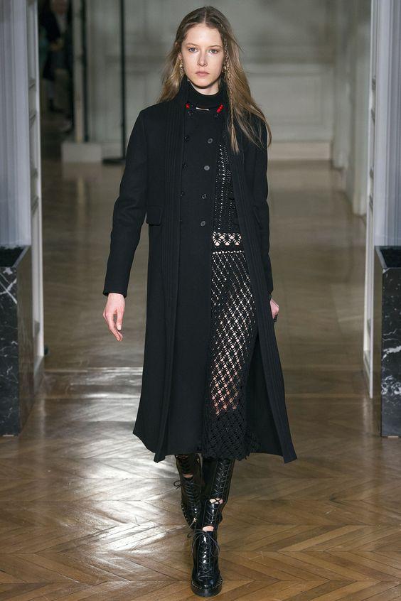 Elegante abrigo clásico