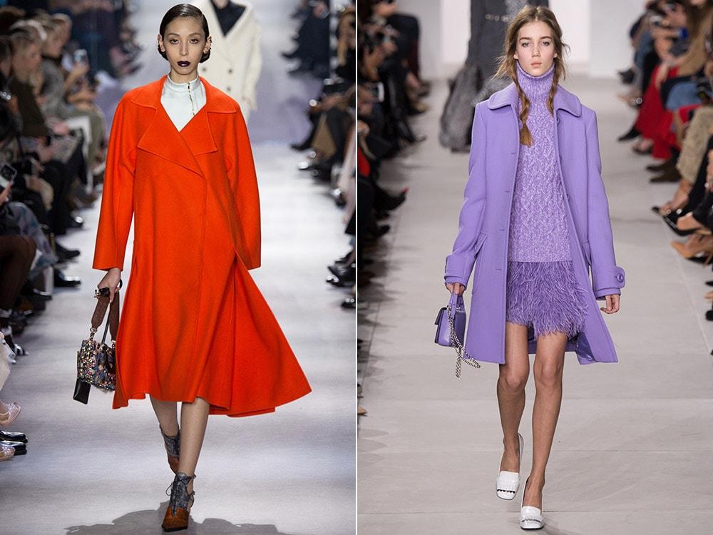 Color de la capa de moda