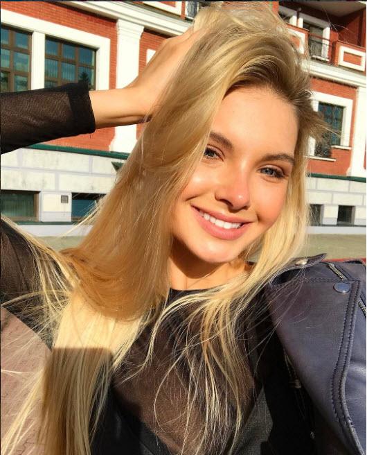 Polina Popova - la ganadora del concurso de belleza 2017