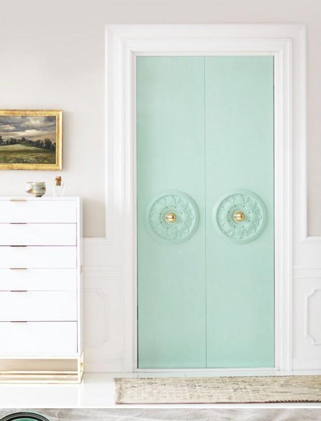 pintura de la puerta