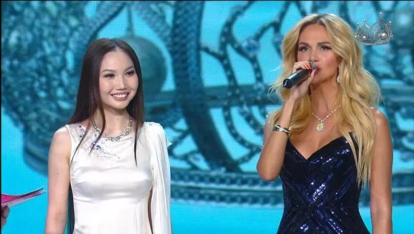 Angelica Nazarova en Miss Rusia 2017