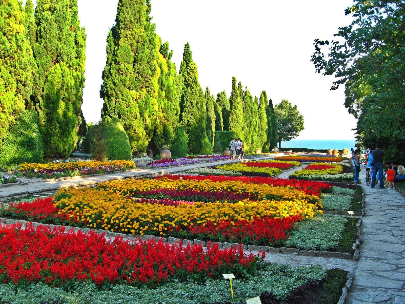 Ботаническа градина Балчик България