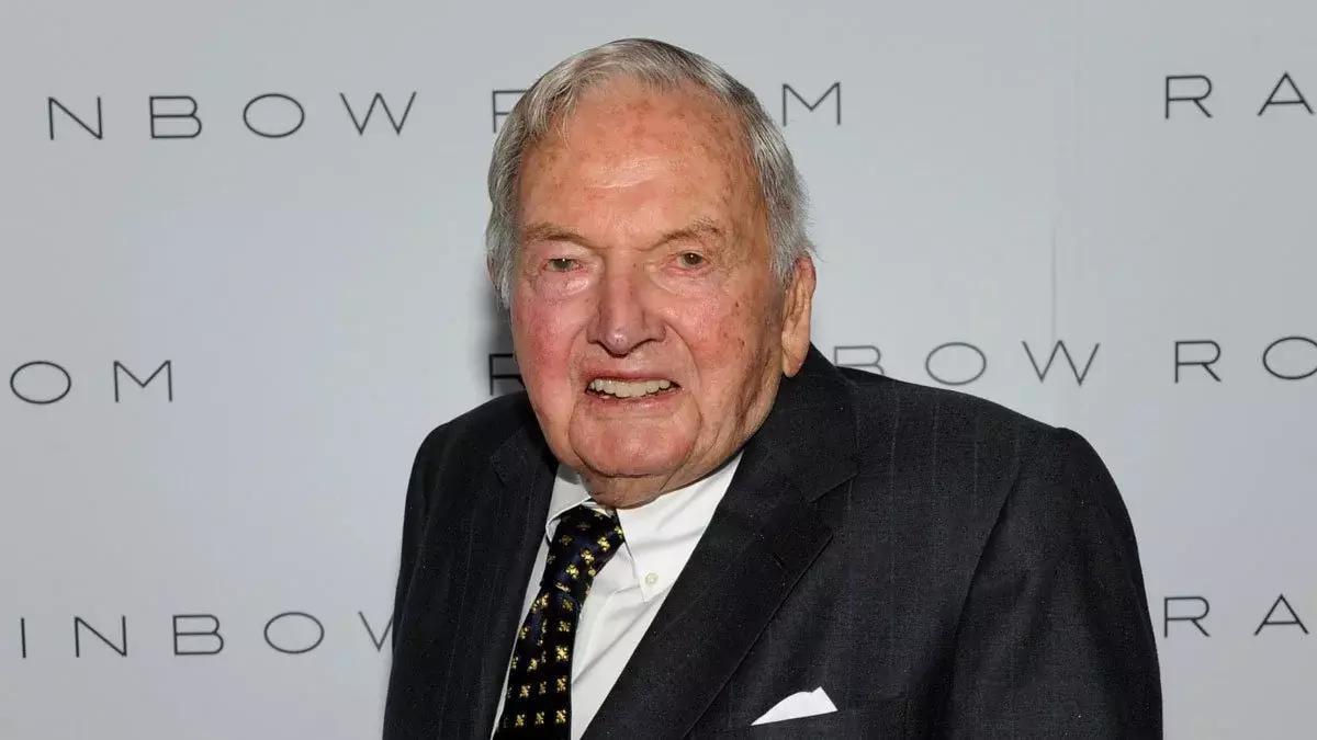 David Rockefeller est mort