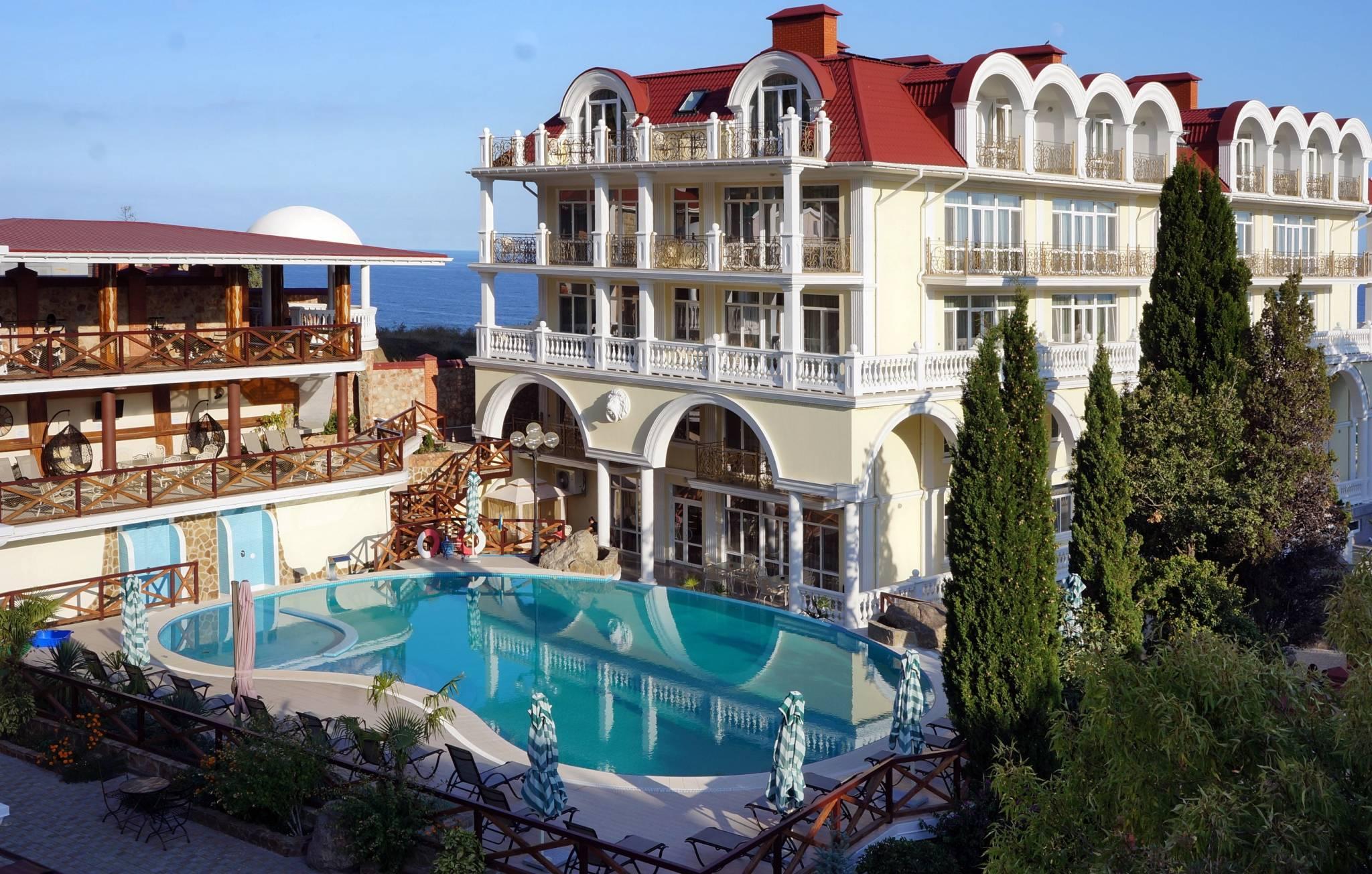 хотели в Крим
