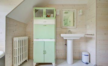 drvena ploča u kupaonici