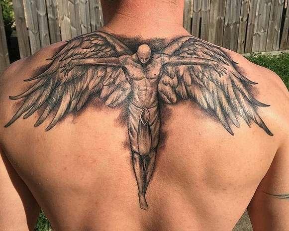Bedeutung engelsflügel tattoo Die Bedeutung