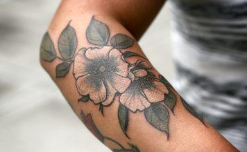 Flores de tatuaje