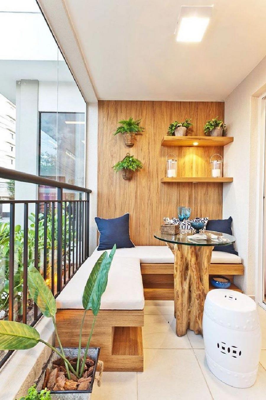 Arredare Un Terrazzo 100 idee migliori: design di una loggia e un balcone nella foto