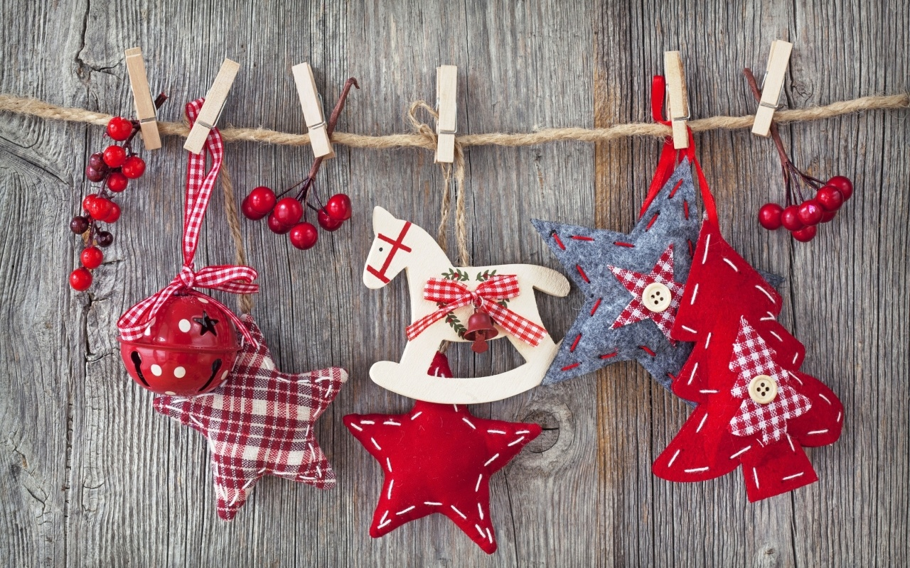Hermosos juguetes de navidad