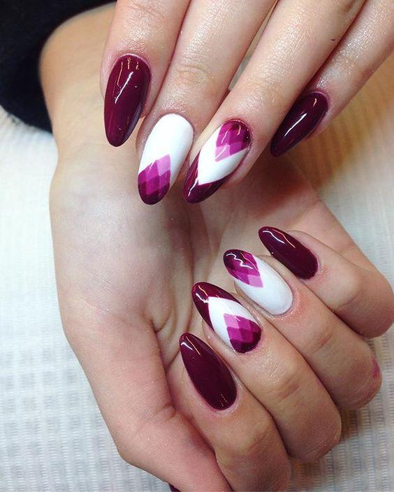 Geometri dalam manicure