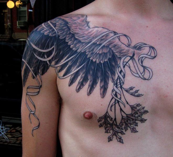 Kråka Tatuering Betydelse