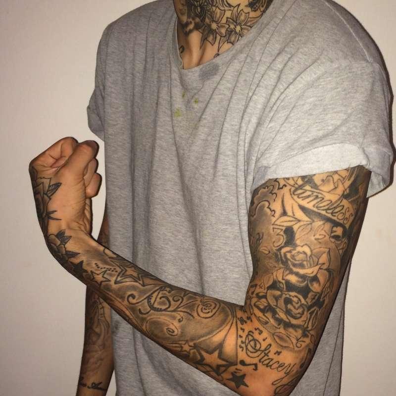velké tetování