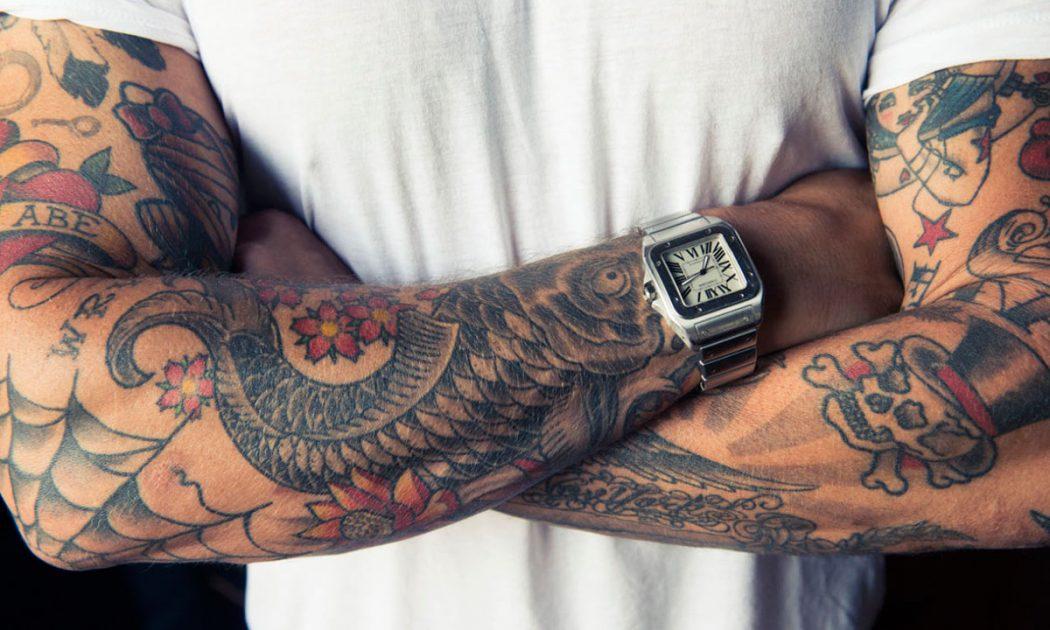 pánské tetování rukávy