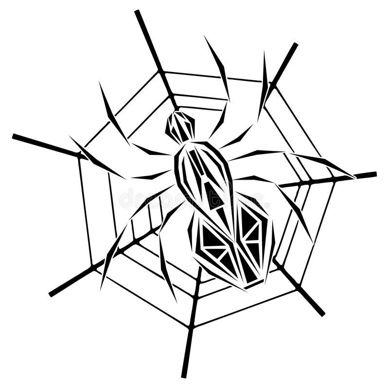 паяк в уеб скицата
