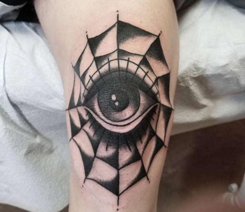 мрежа с око