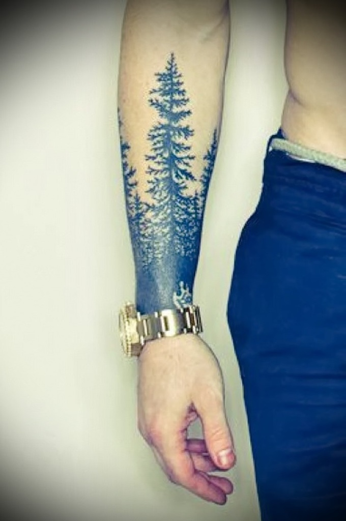 rukáv tetování