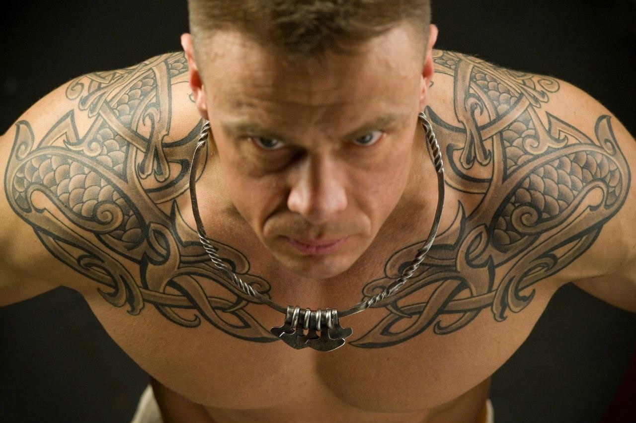ramenní tetování