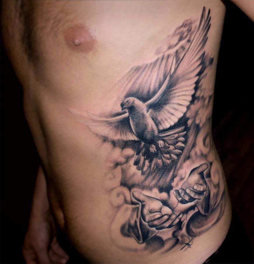 žebra tetování