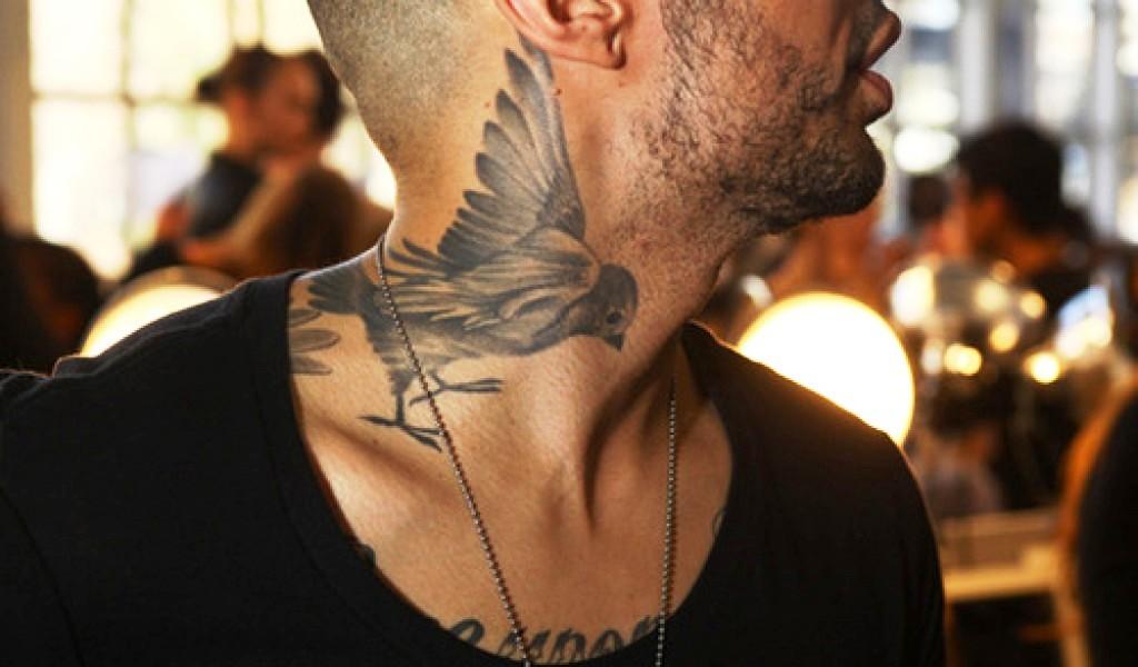 ptačí tetování