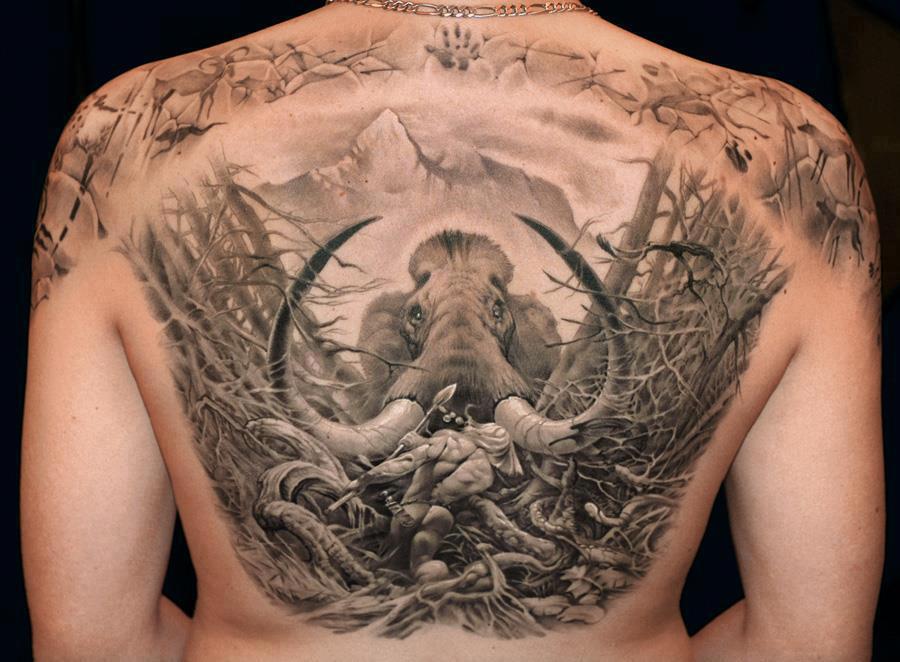 tetování zpět