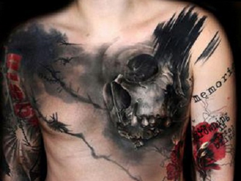 jedinečné tetování