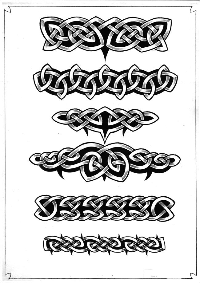 náčrtky tetování na krku
