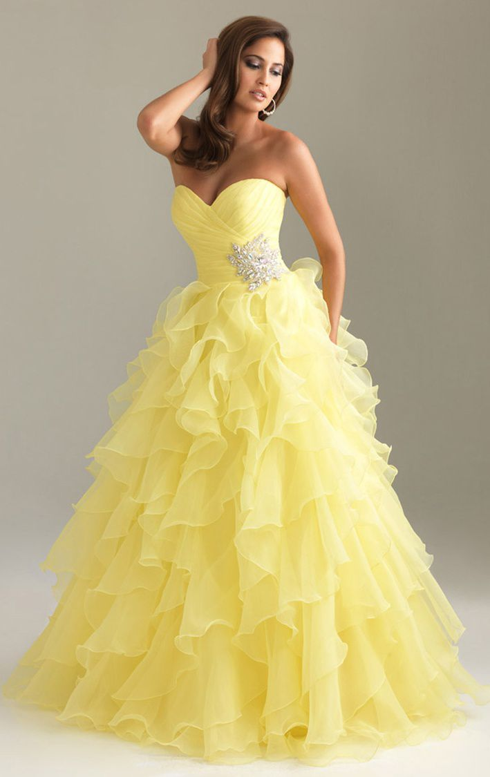 100 Novos Produtos Vestido Amarelo Tendências De Moda