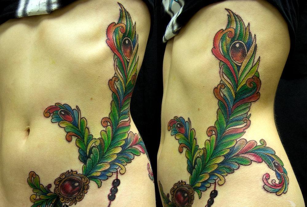 100 Pomysłów Na Zdjęcia Peacock Tattoo Szkice Czyli Dla