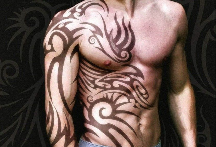 Tattoo Apstrakcija 100 Fotografija Muških I ženskih Verzija