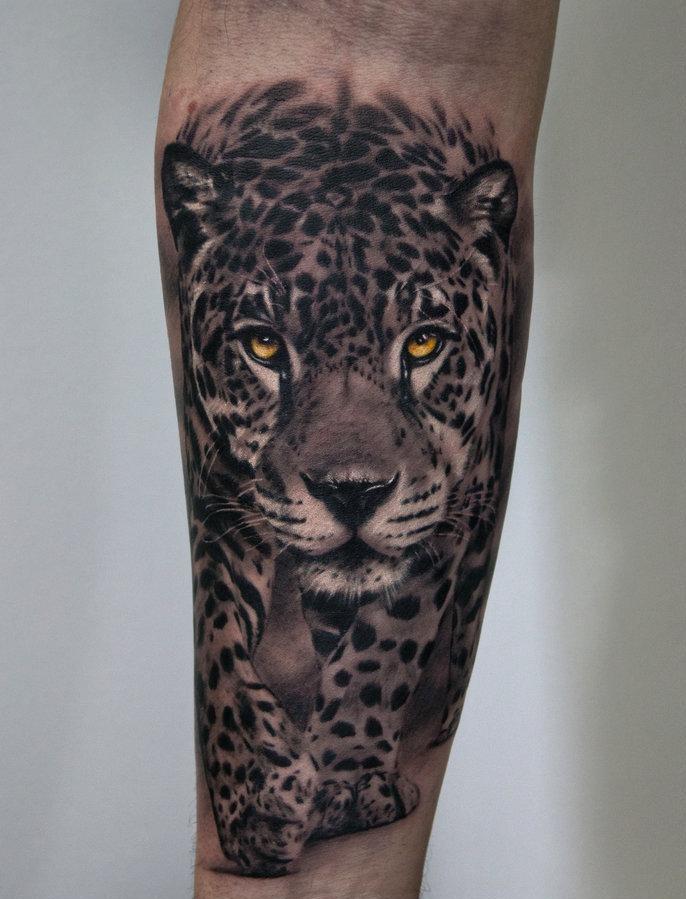 Leopard Tattoo Ponad 100 Pomysłów Na Zdjęcie Wartość Szkice