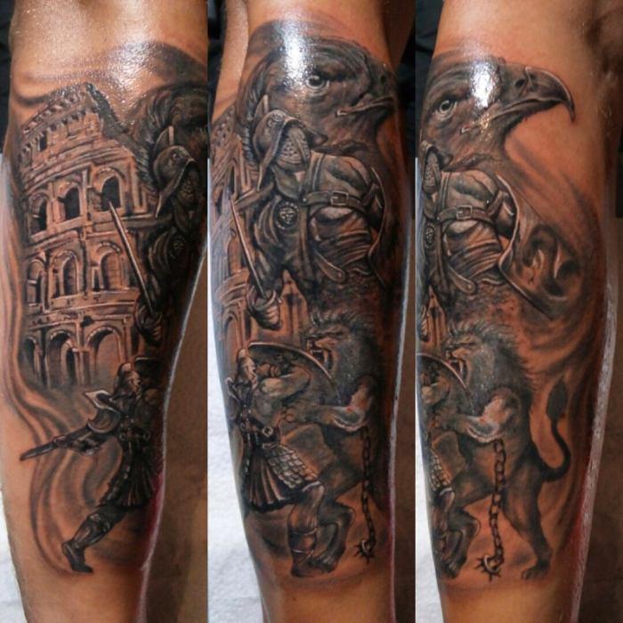Gladijator Tattoo Top 100 Fotografija Vrijednost Skice