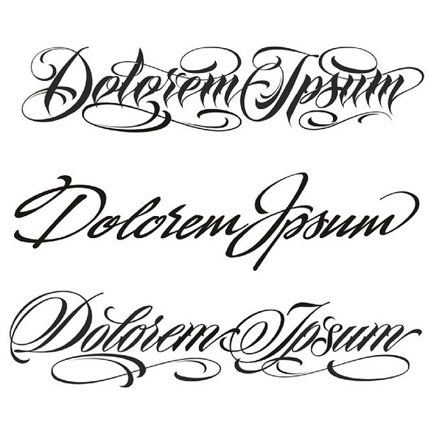 Czcionki Do Tatuażu Ponad 100 Opcji Zdjęć Do Pięknych Napisów