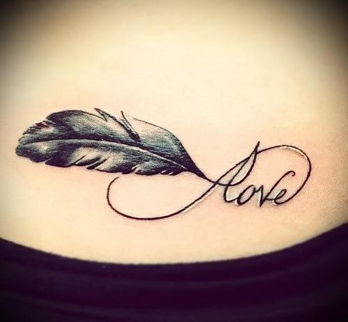 Liebe zeichen tattoo unendliche Zeichen Für