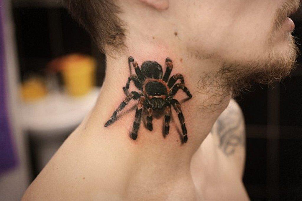 Spider Tattoo 100 أفضل الصور والقيمة والرسومات للفتيات والرجال